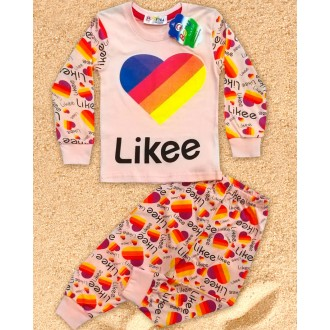 Пижама для девочки 1-5 BONU