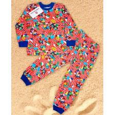 Пижама для мальчика 2-6