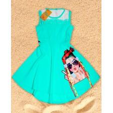Платье для девочки NEW BOREN