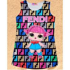 Платье-туника для девочки HACALI