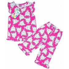 Пижама для девочки 3-7 LeLo