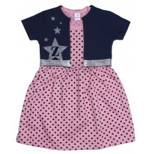 Комплект для девочки платье и болеро 3-7 ZARI